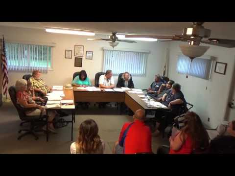 08/01/16 Village of Holiday Hills Committee Meeting.