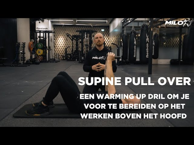 Supine Pull Over