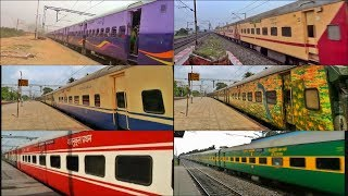 All types of ICF Coach Livery Compilation of Indian Railways [Full HD]