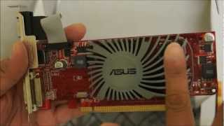 how to install a dedicated pcie graphic card asus ati radeon hd 6450 silent hdmi