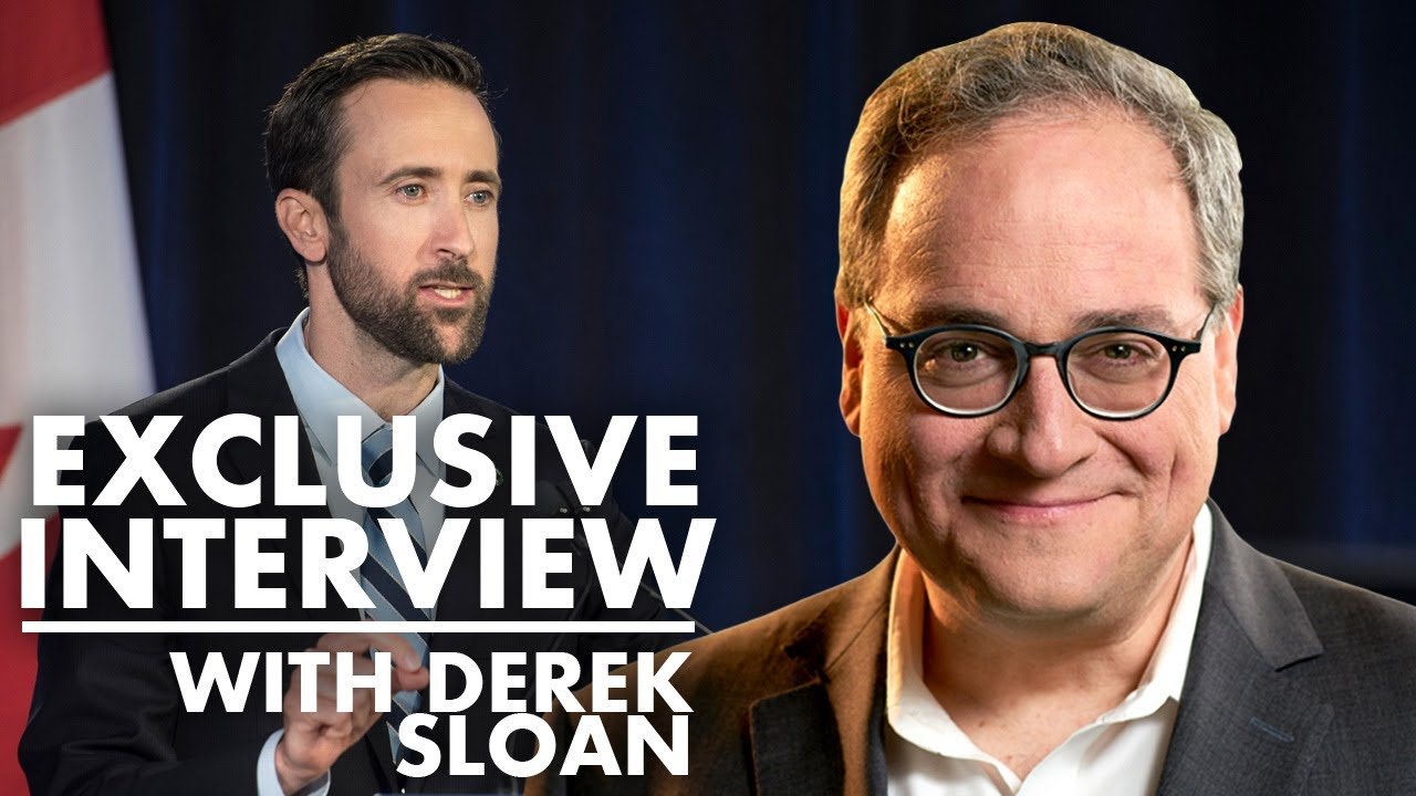 BREAKING - EXCLUSIVE INTERVIEW: Derek Sloan speaks after being kicked out of Conservative Caucus