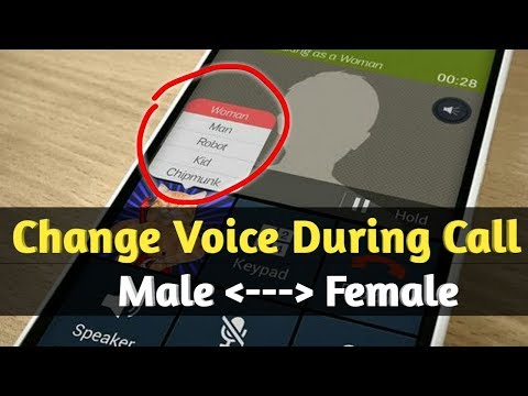 Change Voice During Call | Change Voice During Call To Female Android | Prank Call
