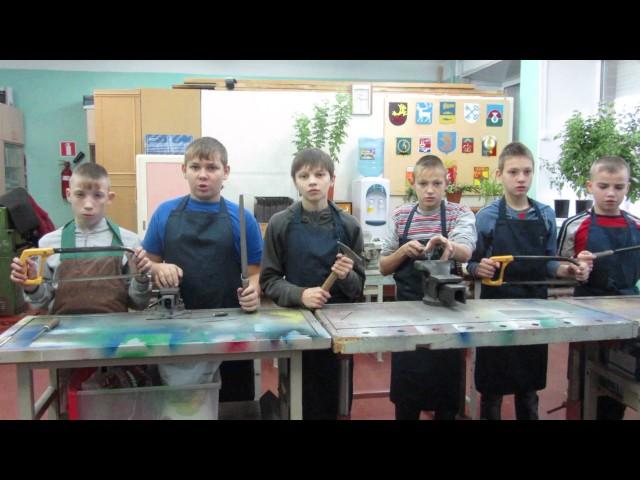 Изображение предпросмотра прочтения – «Мальчики 6 класса» читают произведение «Труд» В.Я.Брюсова