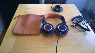 Audio-Technica ATH-M50XBL Headphone Review
