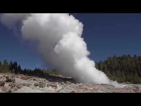 World's tallest geyser erupts at Yellowstone for third time in six weeks: report