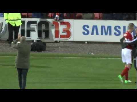 Post Match - Swindon Town F.C. vs Sheffield United F.C. 06.11.12