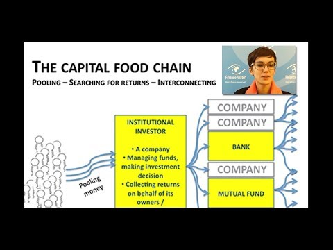 The capital food-chain: how is capital allocated, by whom an