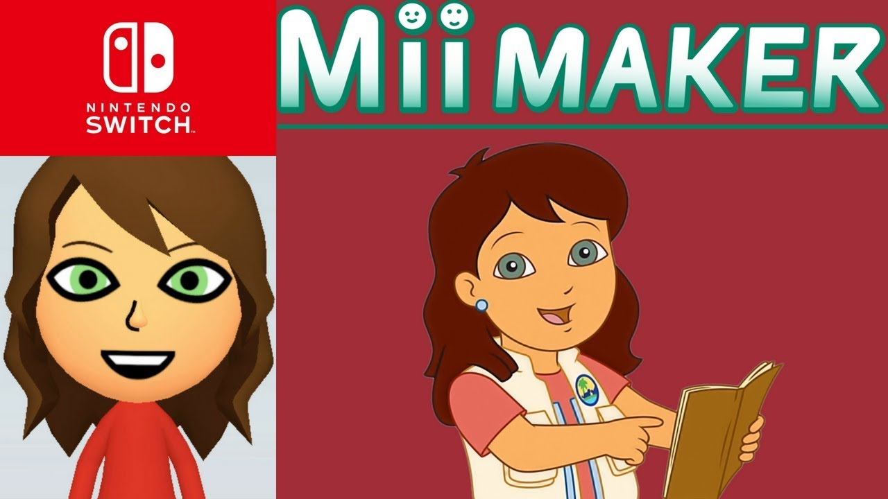Mii Maker – Dibujos Para Colorear