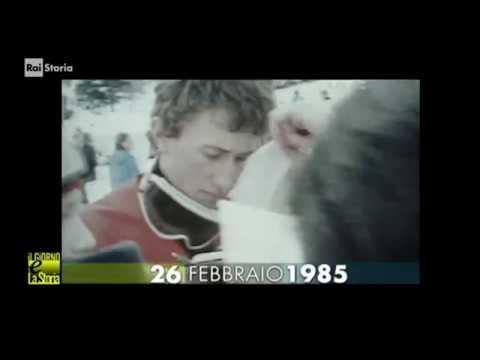 (anniversari morte 1985) ** 26 febbraio ** Gressoney-La-Trinité: Leonardo David, sciatore italiano