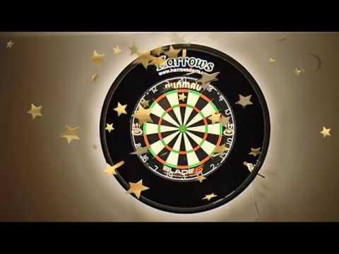 dartboard led lightning version 2 0 youtube