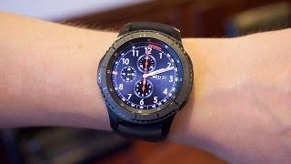 نظرة أولى وسريعة على ساعة سامسونج جير أس 3 الذكية | Gear S3