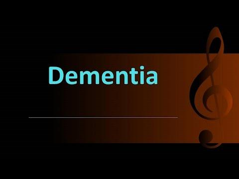 Psychiatry Lecture: Dementia