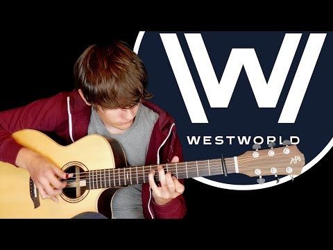 Westworld Main Theme (HBO) Fingerstyle Guitar Cover by Eddie van der Meer
