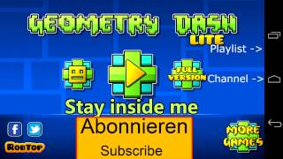 STAY INSIDE ME - GEOMETRY DASH Official Soundtrack [HQ[ + Download