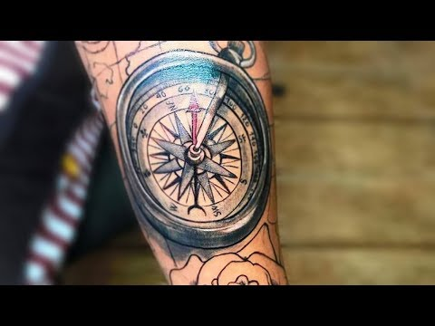 30-compass-tattoos-for-men-that'll-help-you-to-find-the-right-direction
