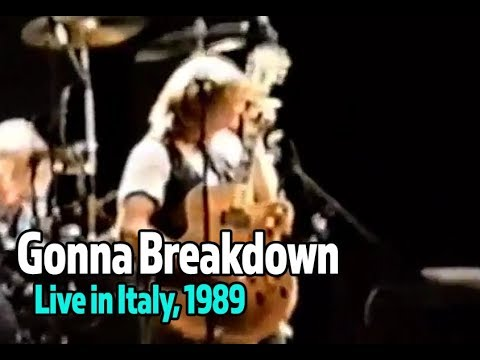 Gonna Breakdown (Live) - Tommy Conwell and the Young Rumblers, Live in Italy
