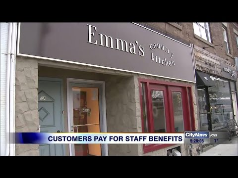 Toronto restaurant cooking up controversial employee benefits program