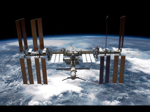 Watch as Russian astronaut works on the International Space Station