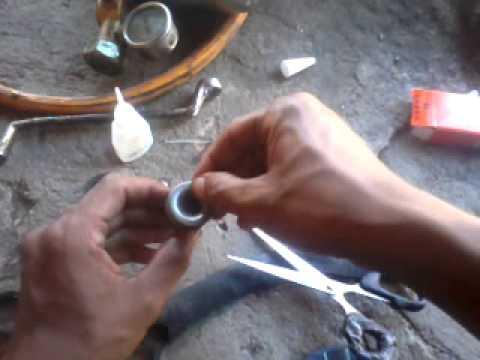 Memperbaiki Katup Pompa Cuci Motor