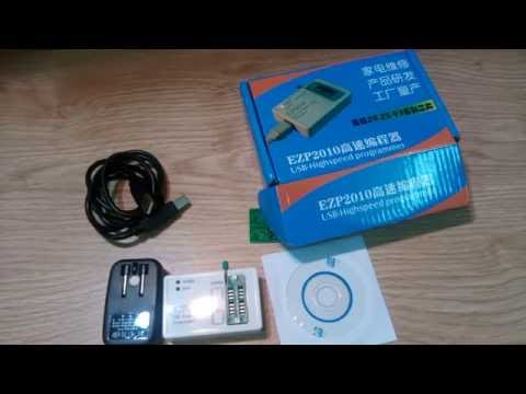 EZP2010 high-speed USB SPI Programmer support 24 25 93