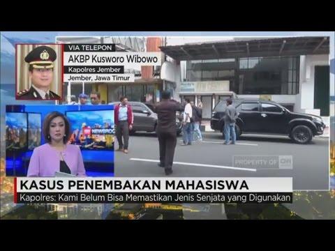 Kapolres Jember: Penembakan Mahasiswa Berawal dari Adu Mulut di Jalanan