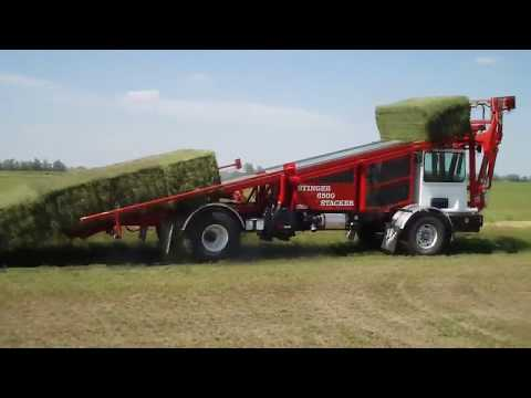 World Amazing Modern Agriculture Equipment Mega Machines Hay Bale Tractor Harvester Loader Truck