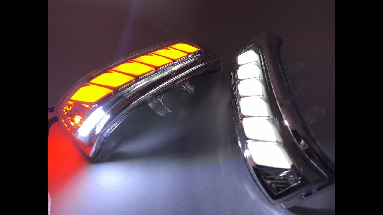 TOYOTA Sienna 1117 LED 4 in1 mirror sequential turn