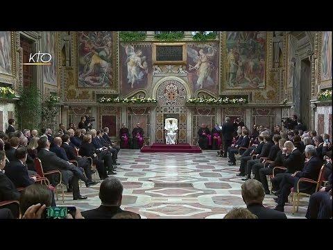 Audience du Pape François aux chefs d'Etat et de gouvernement de l'Union Européenne