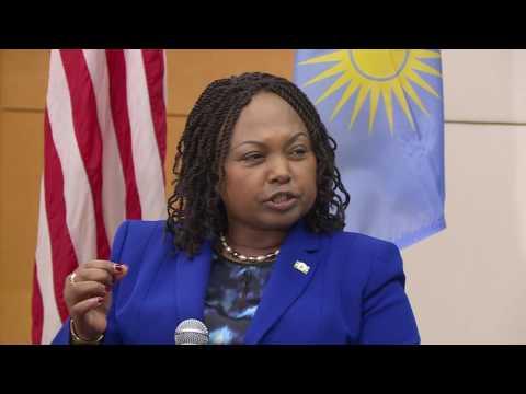 World Affairs TODAY:  Ambassador of Rwanda, H.E. Mathilde Mukantabana