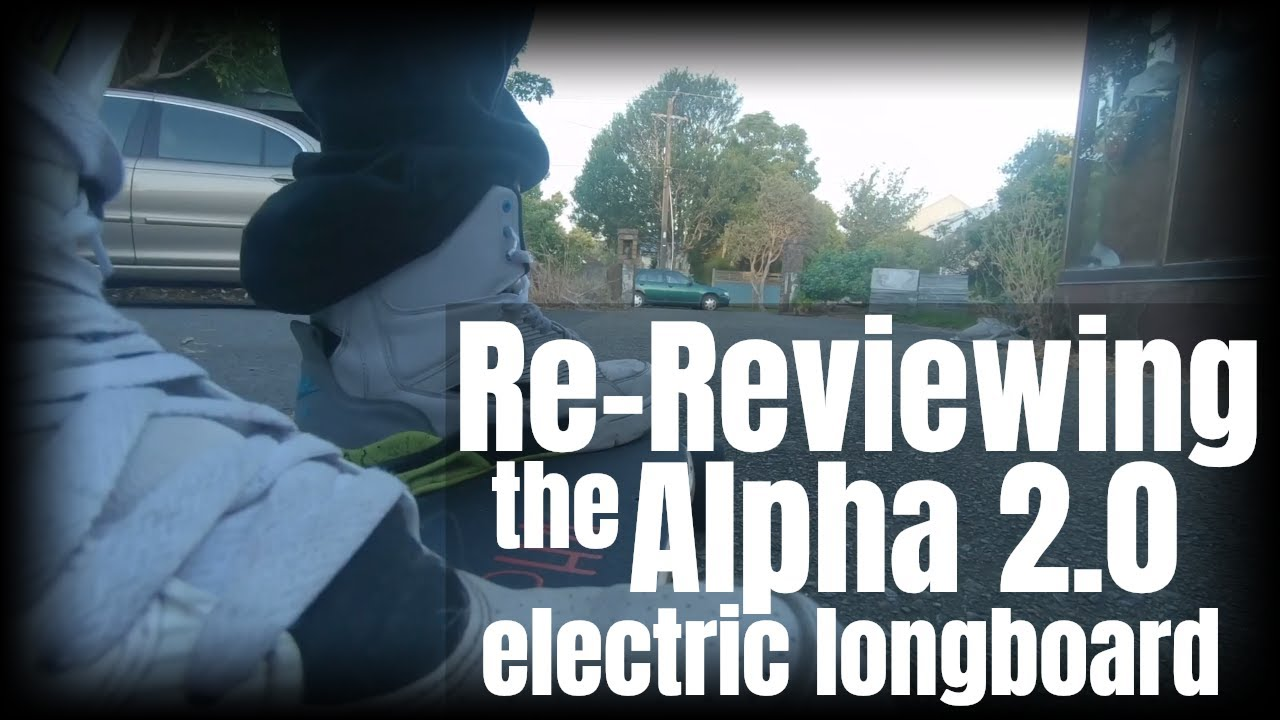 Electric Skateboard Re Review The Alpha 2 0 Board After 3 Months
