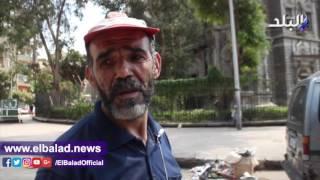 «قصر السكاكيني» يتحول لملجأ لعمال الأقاليم وسط القمامة.. فيديو وصور