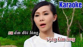 Karaoke Chiều Buồn Nghe Vọng Kim Lang (Beat Chuẩn) - Karaoke Tone Nữ || Ngọc Kiều Oanh