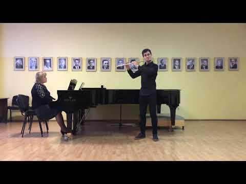 Mukola TV: Samuel Zyman: Sonata for Flute and Piano, II mov.