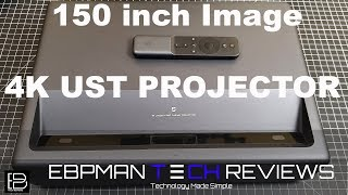 Best 4k Ultra Short Throw Laser Projector 2019 | Xiaomi Wemax One Home Theater Review