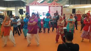 Msian Shaan E Punjab Flash Mob 2015