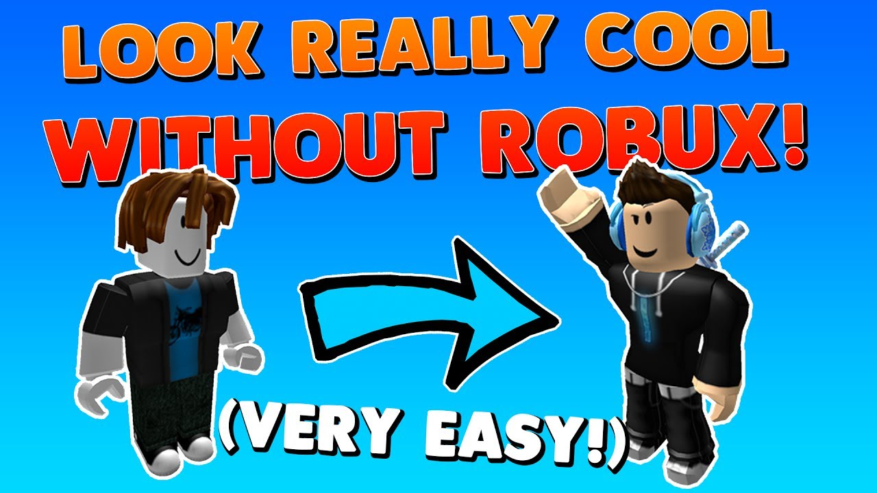 How To Make An Awesome Avatar Without Robux How To Look Really