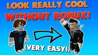 WIE MAN EINEN TOLLEN AVATAR OHNE ROBUX! | Wie man wirklich cool in Roblox mit NO ROBUX 2017 aussieht!