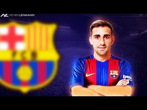 Paco Alcácer ● Welcome To FC Barcelona ● 2016/17 HD