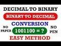 Decimal to Binary Conversion by manavidya