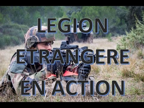 LEGIONNAIRE EN ACTION, TRAINING SOLDIER FOREING LEGION 2016
