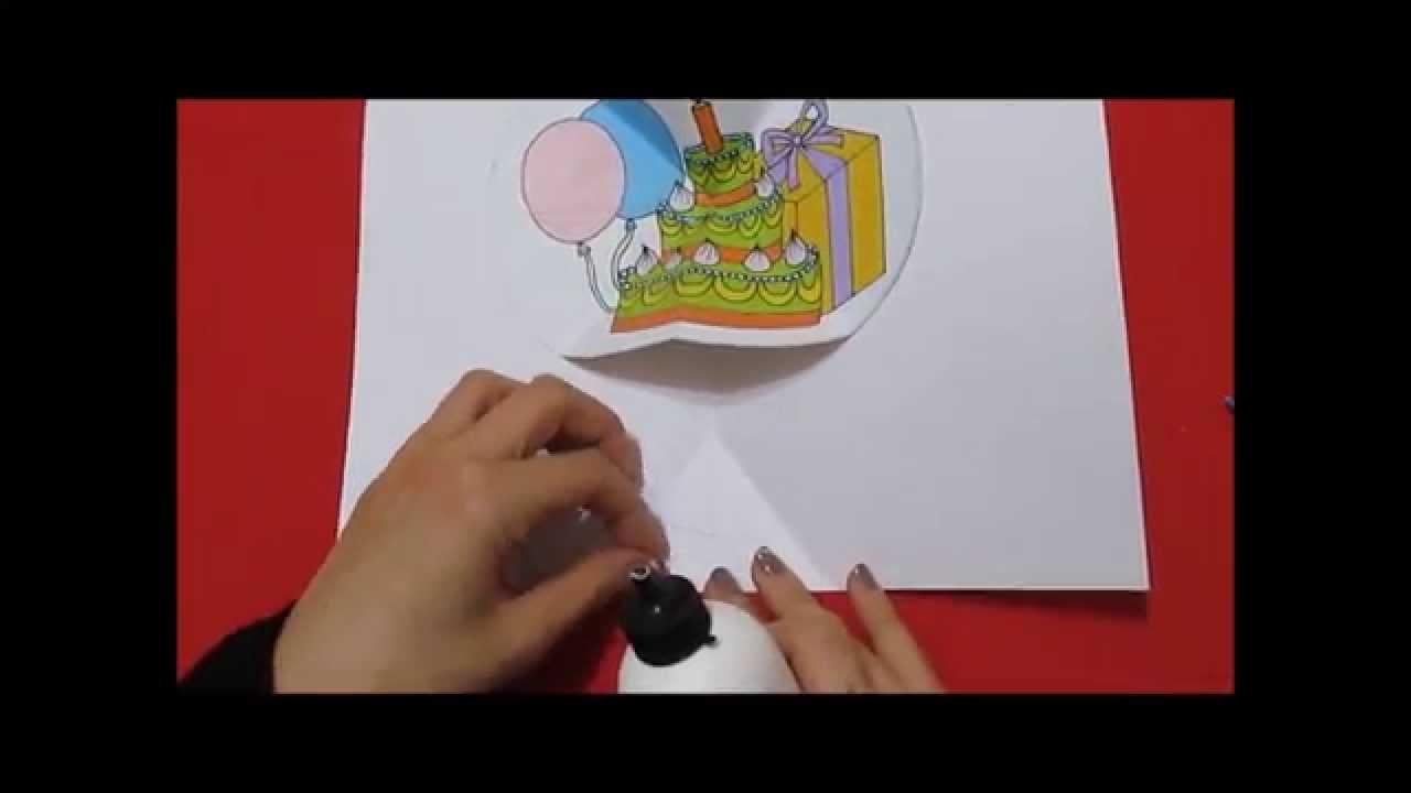 Biglietto di auguri fai da te buon compleanno youtube for Immagini di clown da colorare