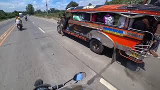 July 5, 2019/550 Motorcycle road trip by John John. Philippines