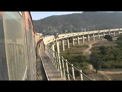 Entire Jammu Tawi- Udhampur journey compilation!! One of the best railway routes in the world!!