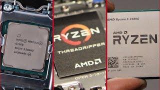 ( Новини ) | Intel с нови процесори | RYZEN могат да копаят | Нови APU-та от AMD