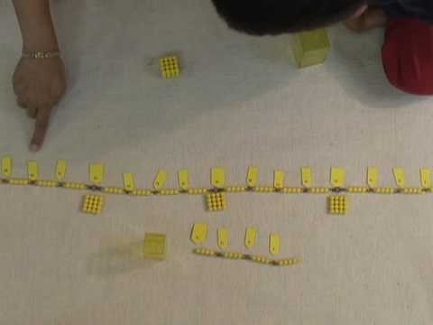 DuPage Montessori- Naperville Preschool Material- Bead Chains