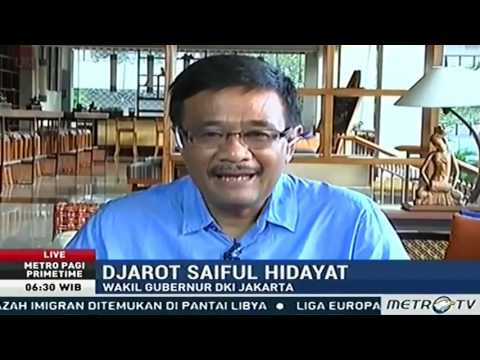 Djarot dan Pengamat Tata Kota MENCARI SOLUSI Pasca Banjir Jakarta #DISKUSI