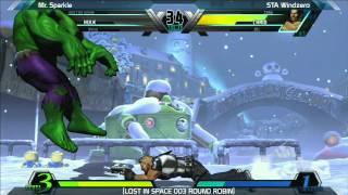 UMVC3: STA Windzero vs Mr. Sparkle - Round Robin - LOST IN SPACE 003
