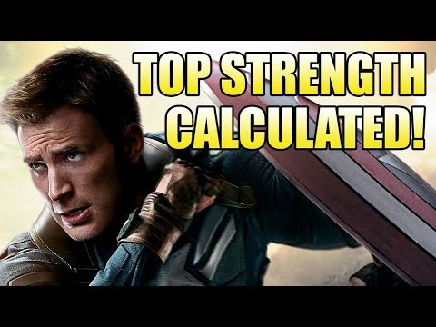 How Strong is the MCU Captain America?