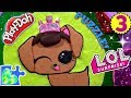 L.O.L. Surprise Dolls Play-Doh Puzzle 3: LOL Pet! Glittery!