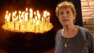 80TH BIRTHDAY PRANK MADE HER SO MAD! (HILARIOUS)
